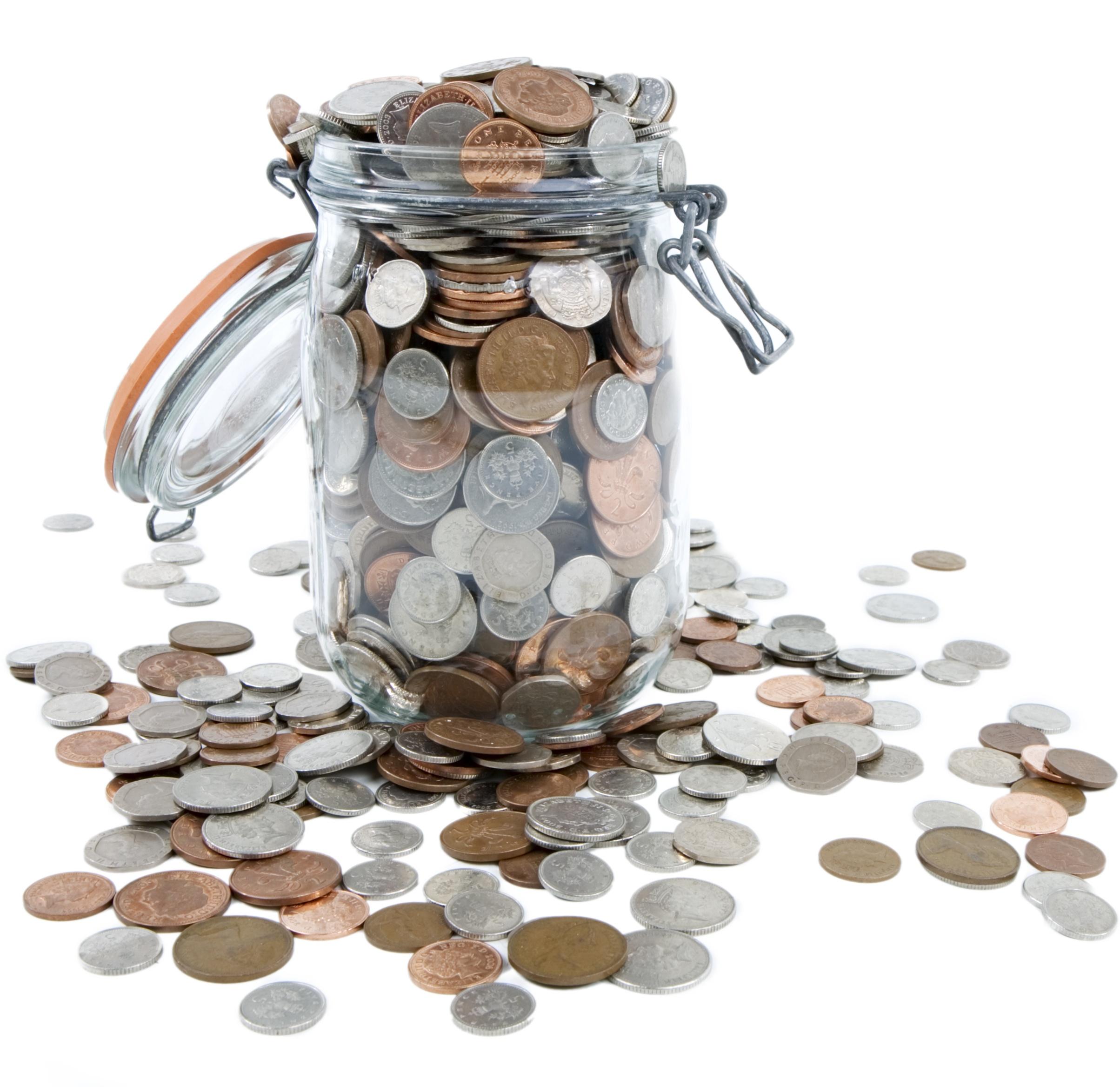 Jar of coins representing R&D Tax Credit benefits .jpg