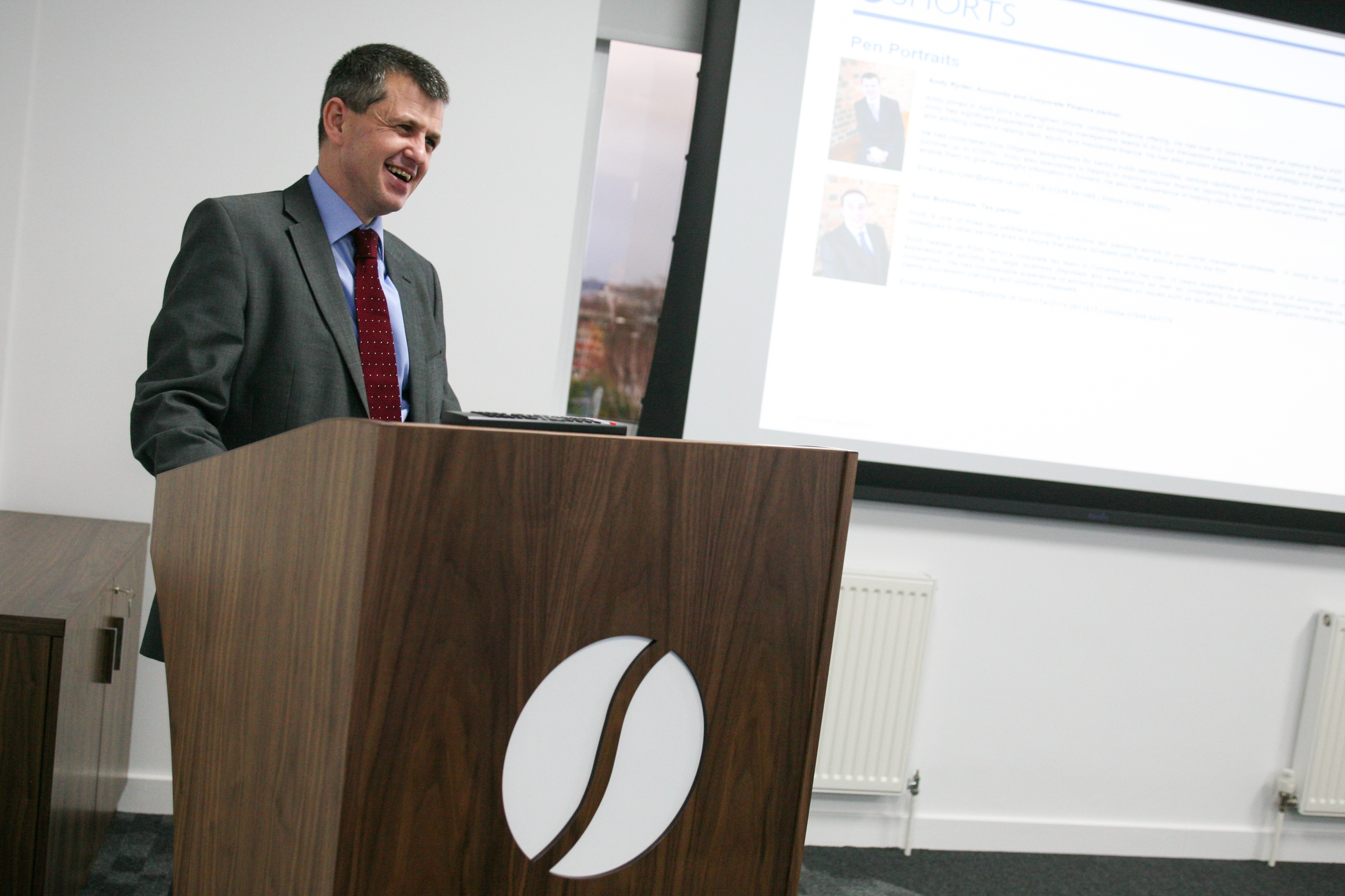Andy Ryder from Shorts Management Buyout MBO Presentation